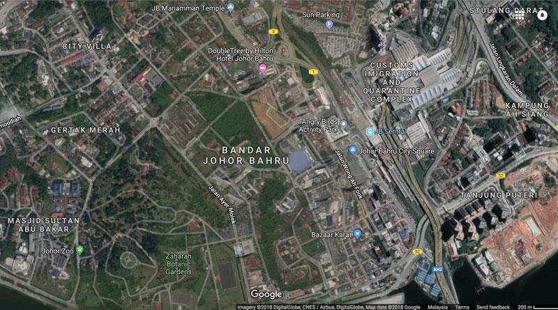 Johor Bahru Area